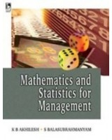 Mathematics And Statistics For Management,1/E