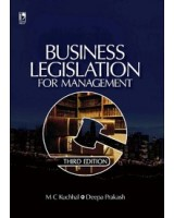 Business Legislation For Management by MC Kuchhal   Deepa Prakash