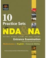 10 Practice Sets NDA & NA Entrance Exam , Author: Arihant