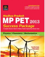 MP PET 2013 Success Package (Physics, Chemistry, Mathematics)   by Anuradha Gupta   Rajesh Purohit Anuj Mishra