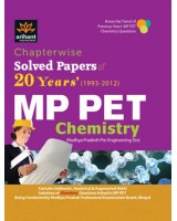Chapterwise 20 Years' Solved Papers MP PET Chemistry