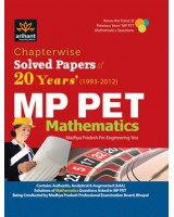Chapterwise 20 Years Solved Papers MP PET Mathematics & Mock Tests