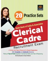 20 Practice Sets - SBI & Associates Clerical Cadre Recruitment Exam , Author: Arihant