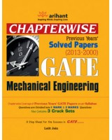 Chapterwise Previous Years' Solved Papers (2013-2000) GATE Mechanical Engineering