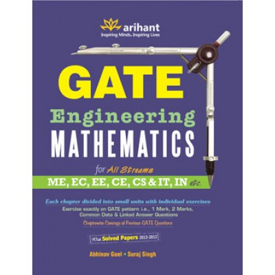 GATE Engineering MATHEMATICS for All Streams (ME, EC, EE, CE, CS & IT, IN etc.