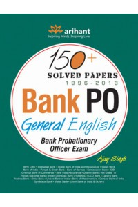 150 + Solved Papers Bank PO General English , Author: Arihant