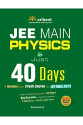 Physics in 40 Days for JEE Main , Author: Saurabh A